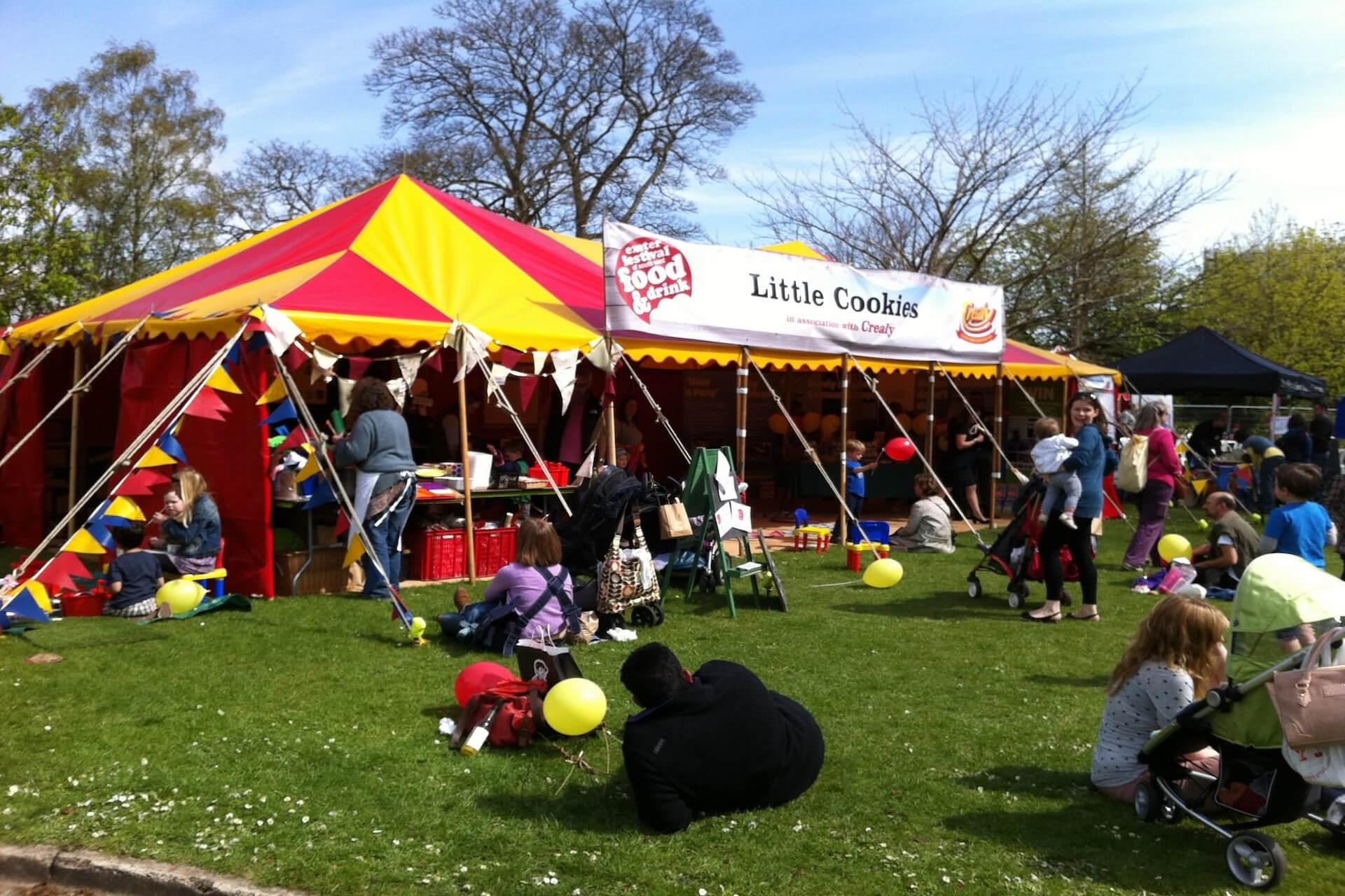 Exeter food festival Devon