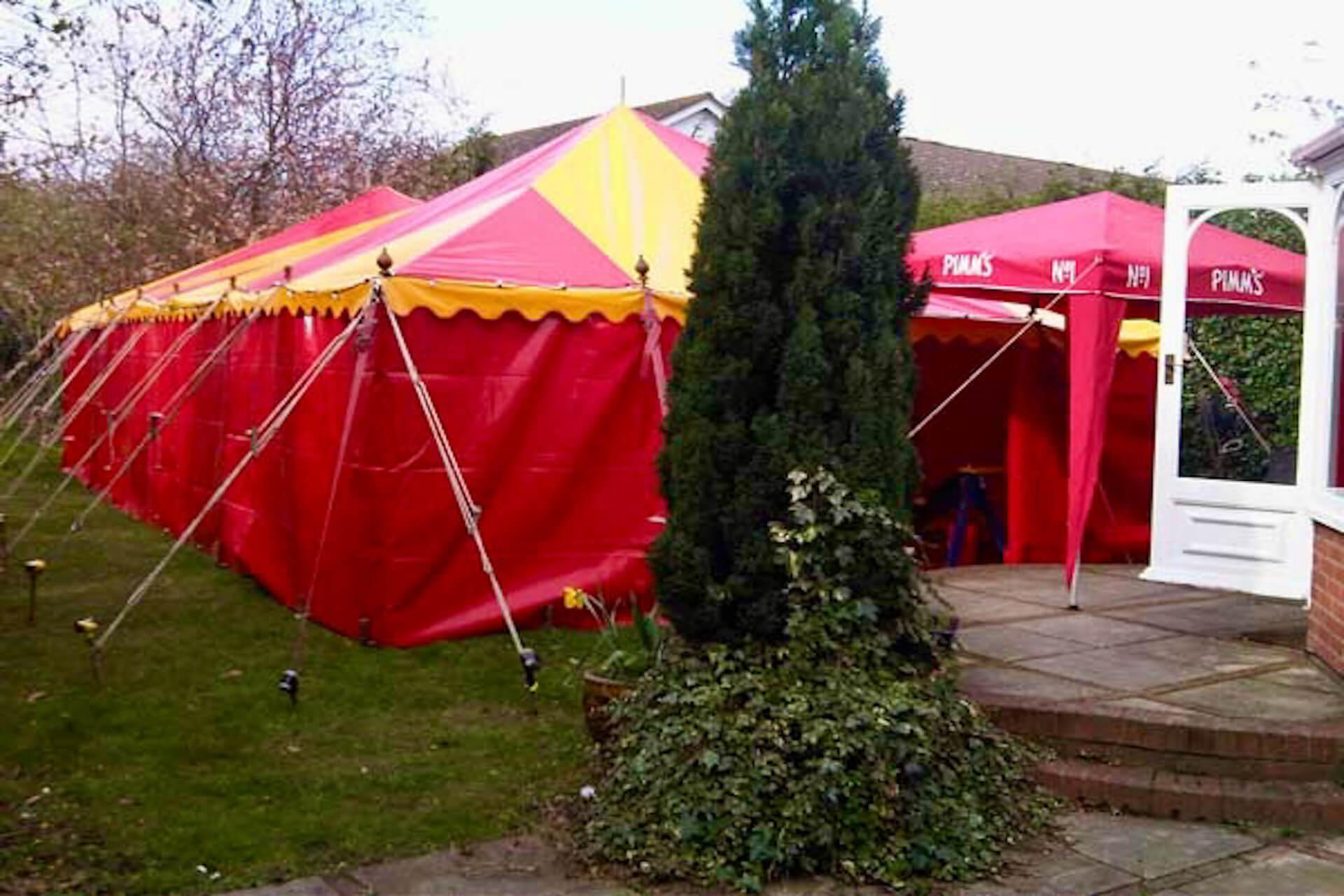 Garden party tent hire london