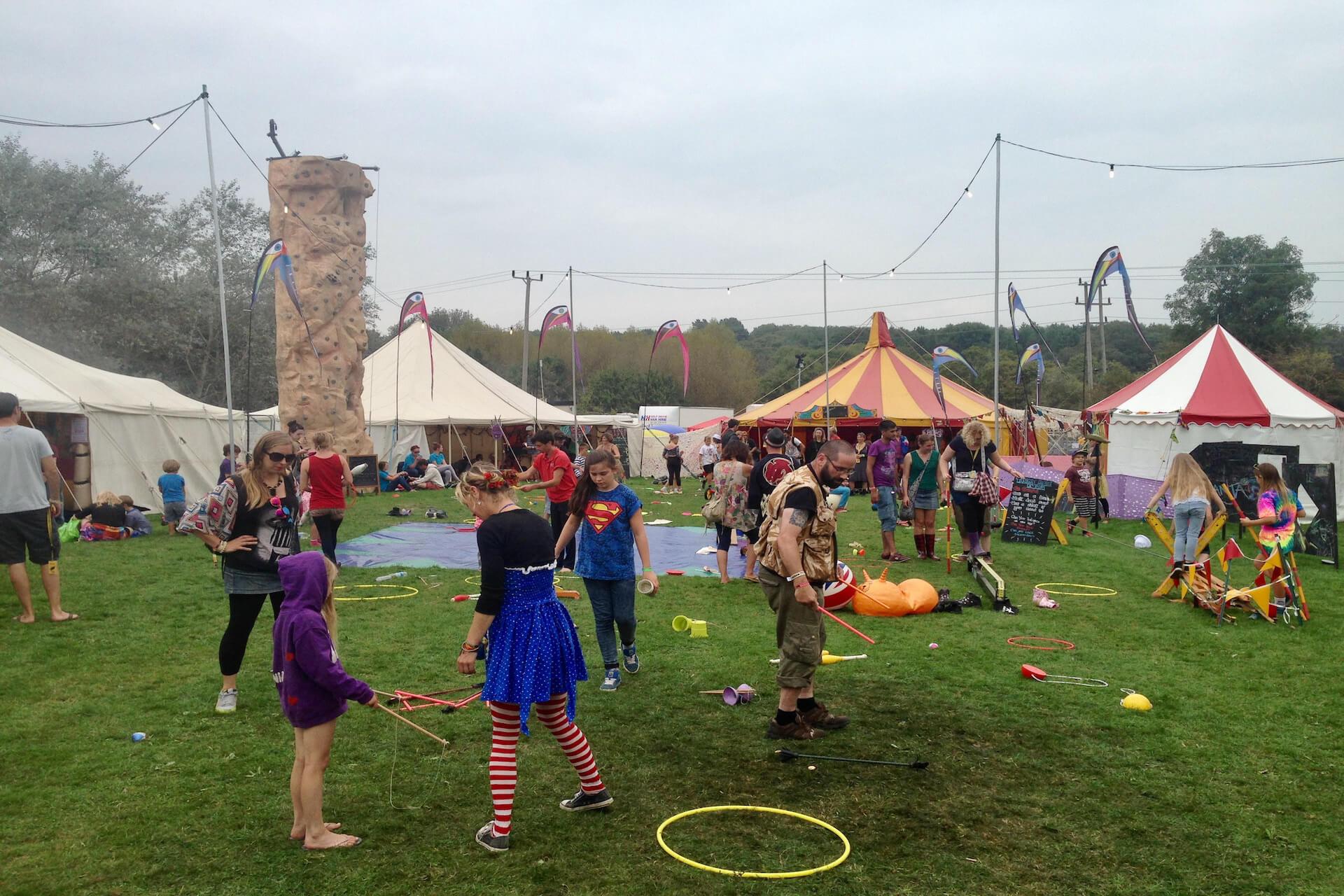 Bigtopmania festival children's area