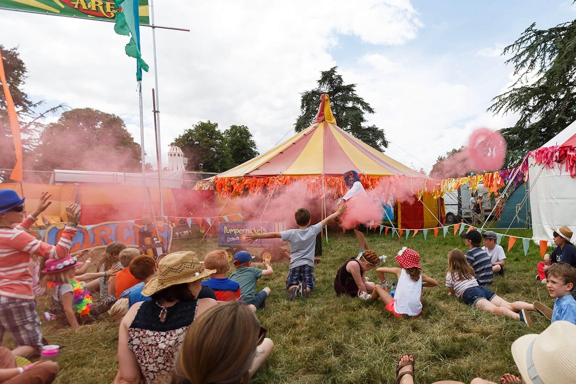 Cornbury festival kids field ©benphillips