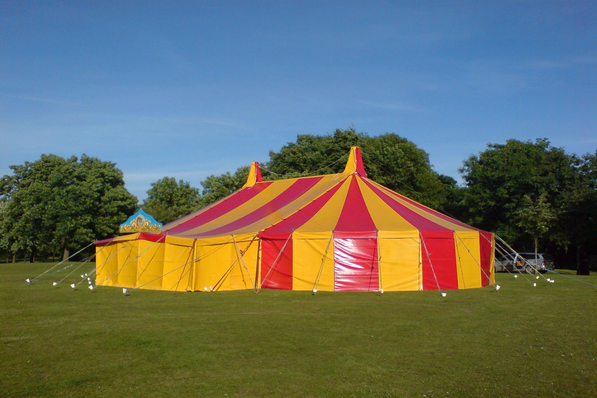 Bigtopmania pop up circus tent