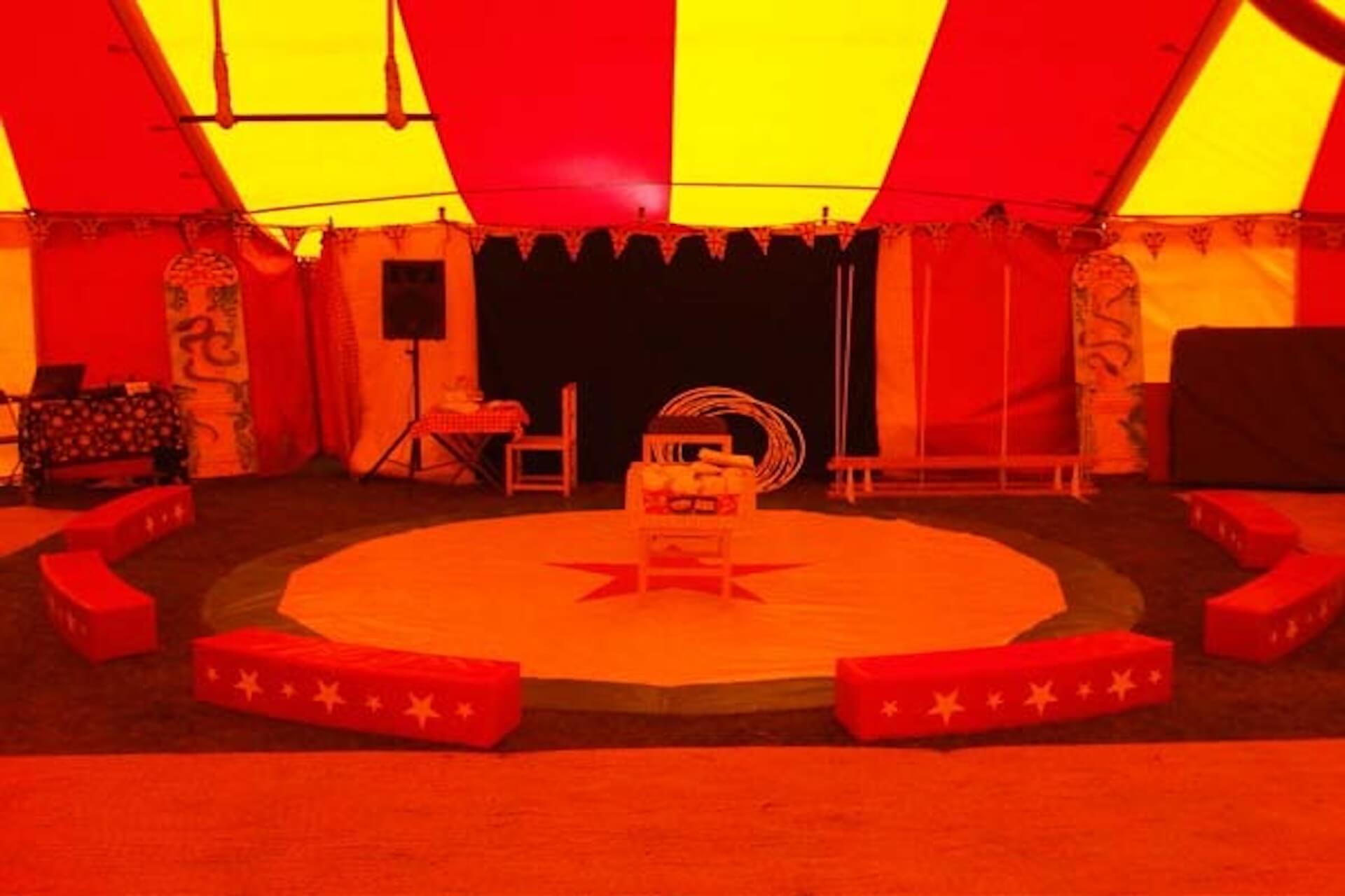 Circus ring hire