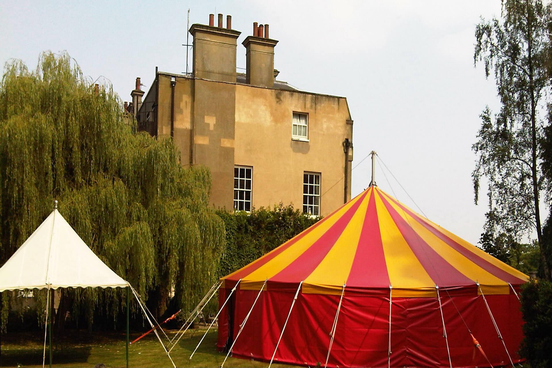 colourful london garden party