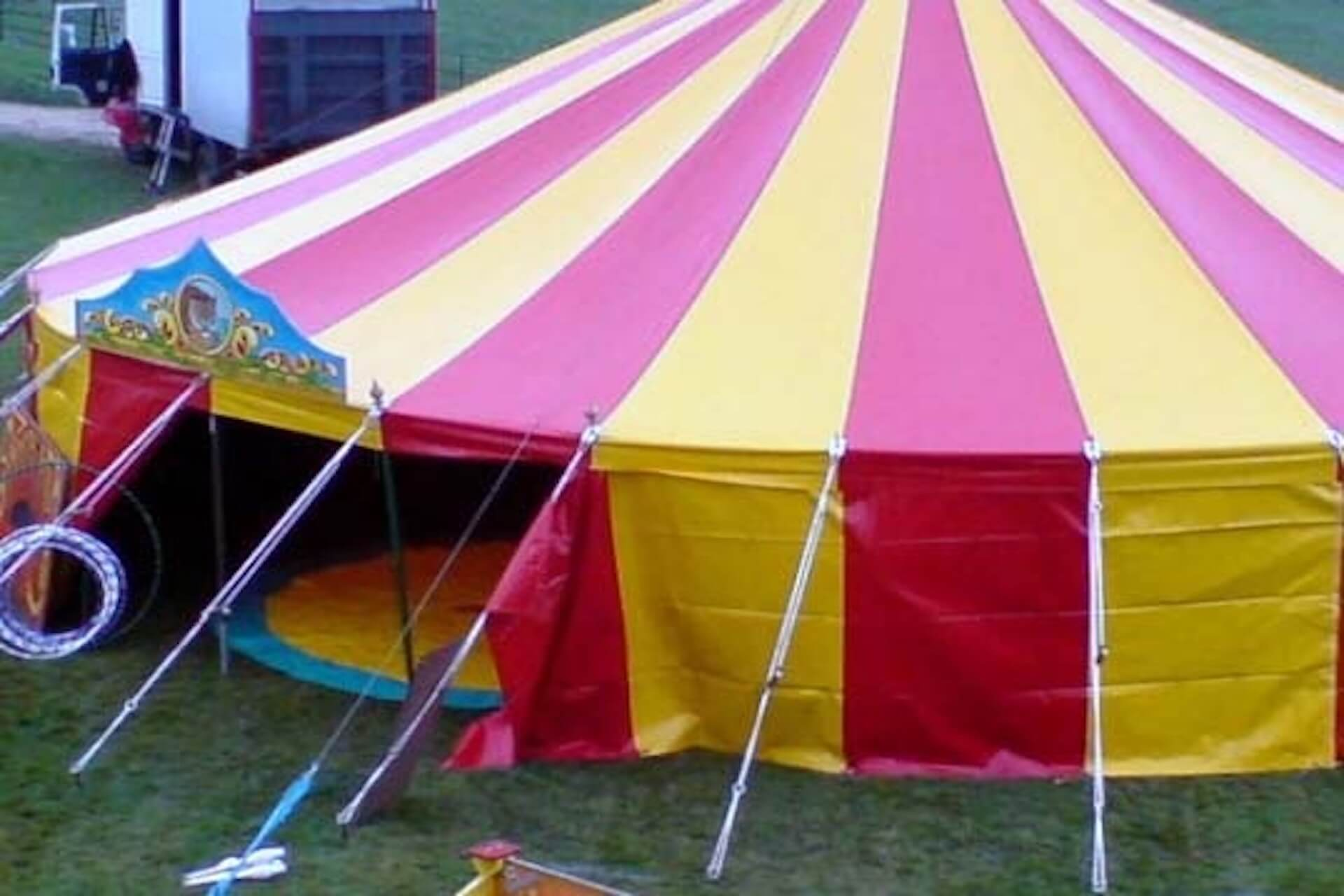40ft round marquee