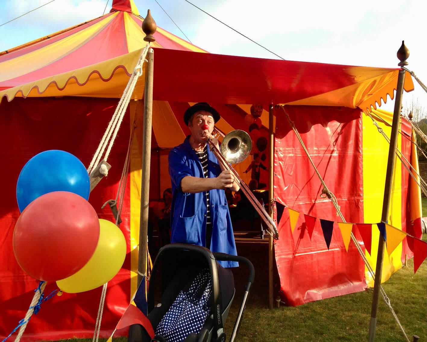clown show party