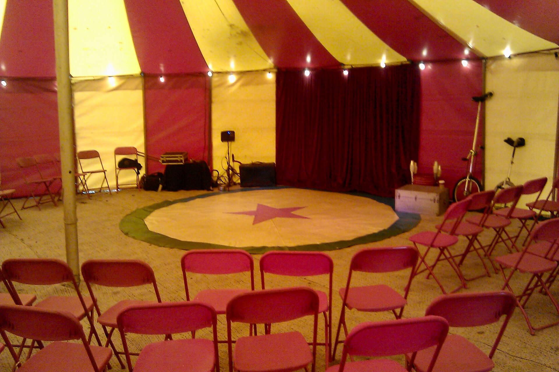 my pop up circus