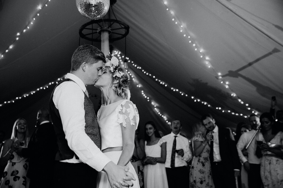 Liz and Ed's boho styled country wedding in Market Harborough