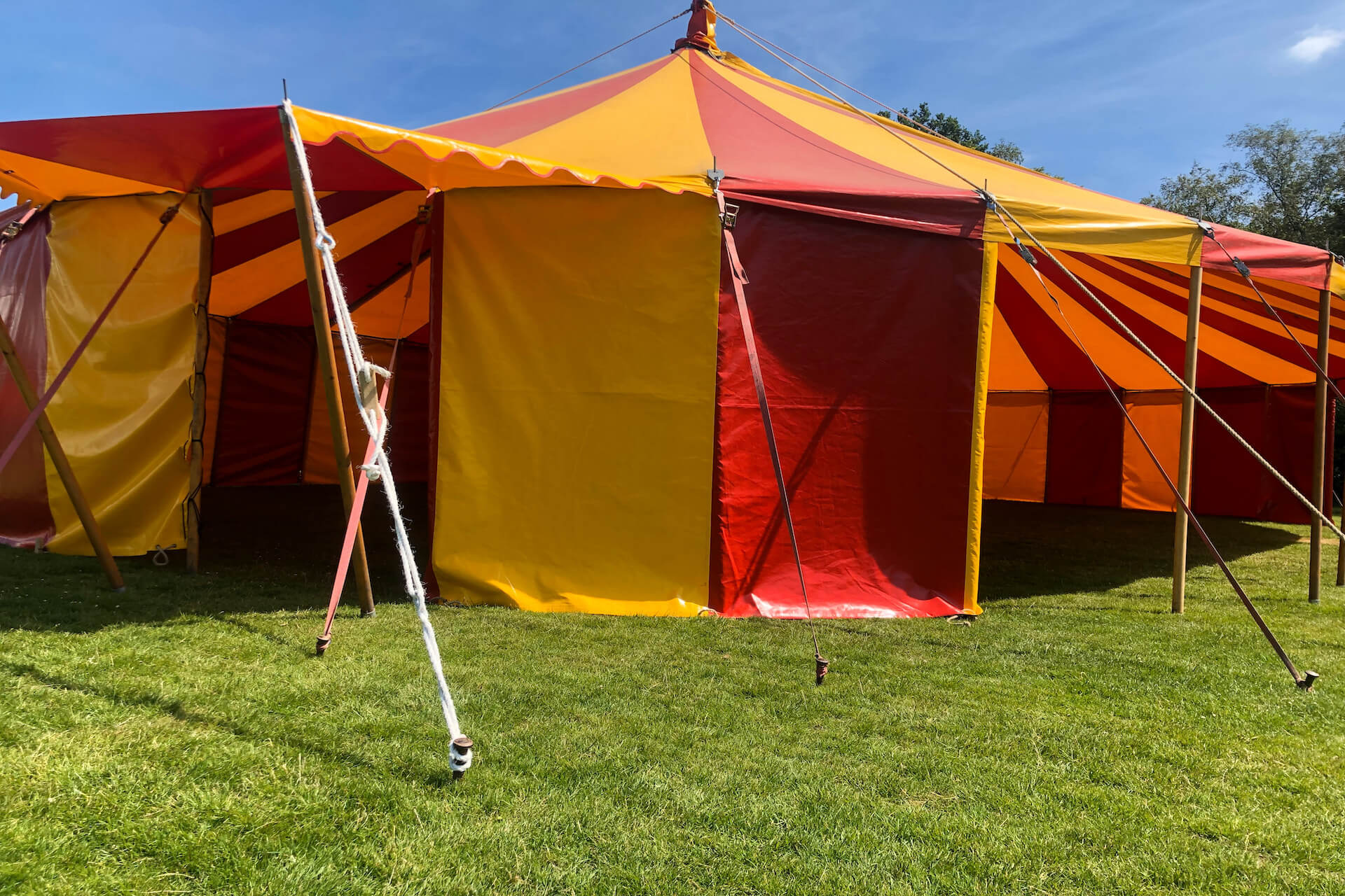 12m x 18m circus tent hire