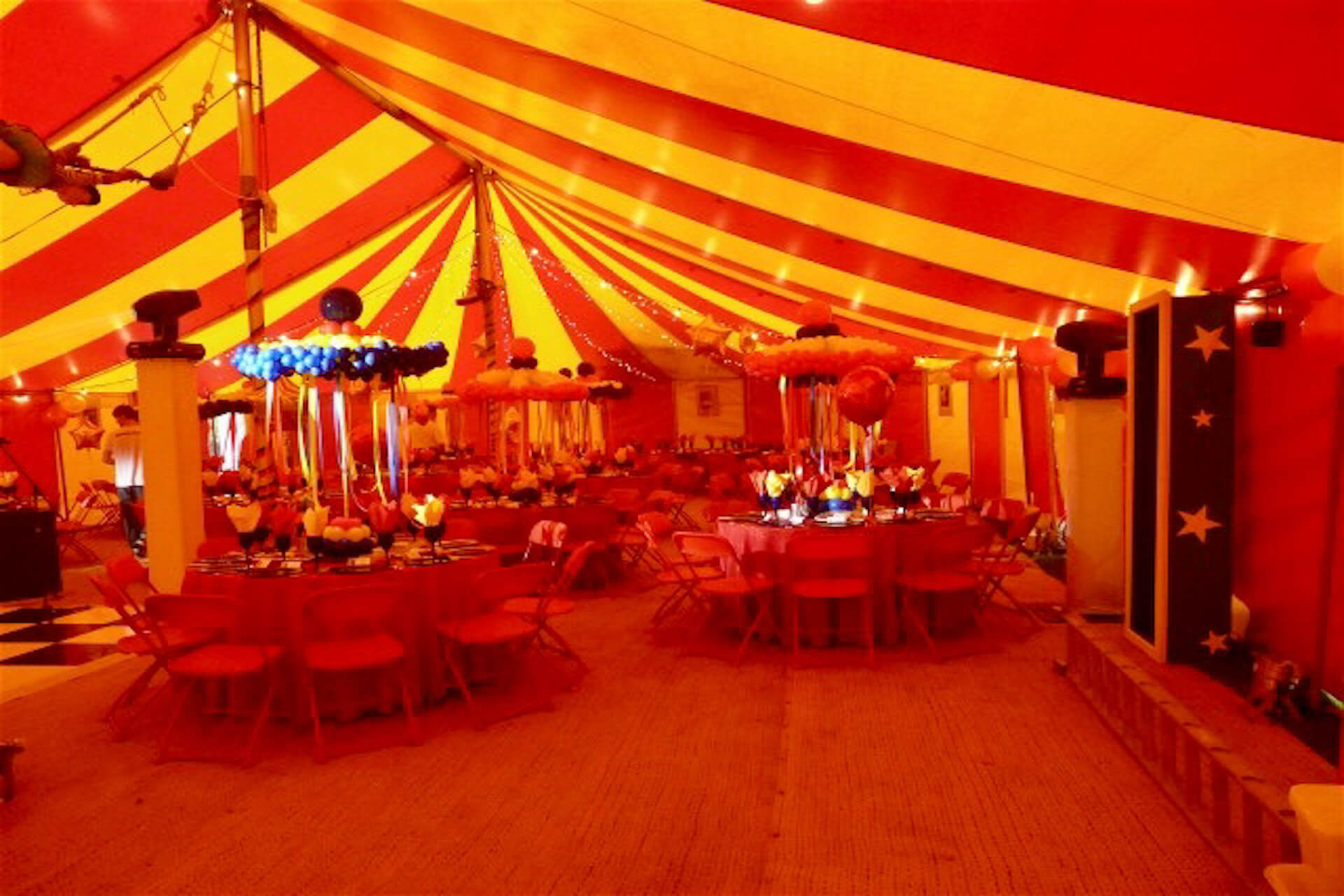 21st birthday party tent