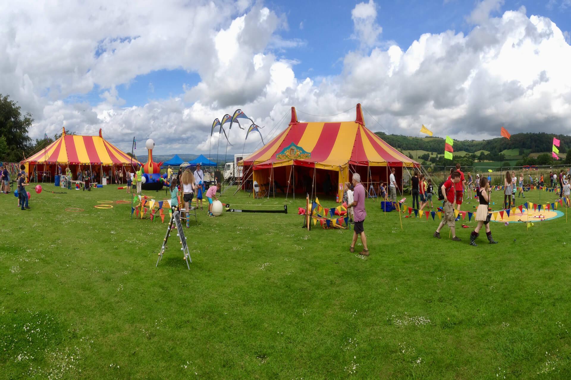 Nibley festival marquees