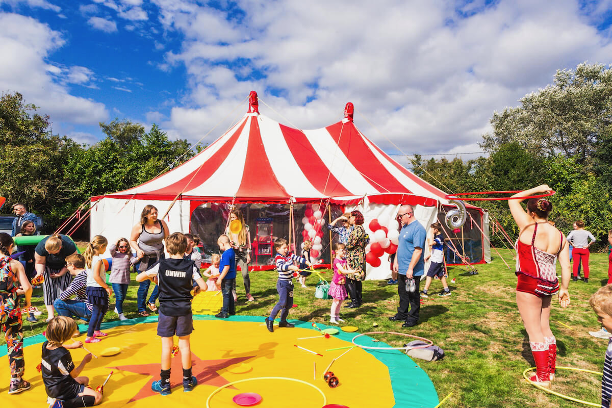 Children's party Big Top birthday