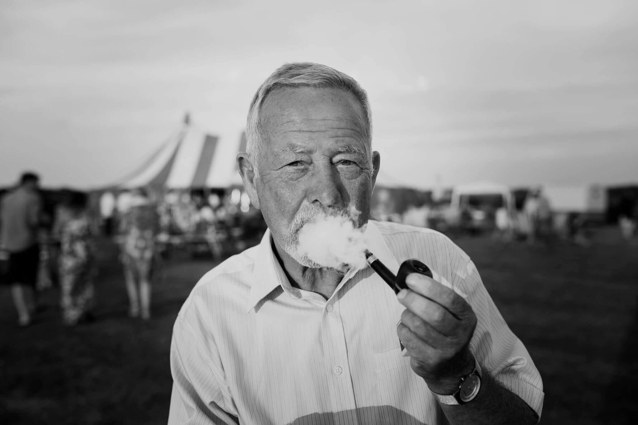 A pipe smoking Cornishman of course