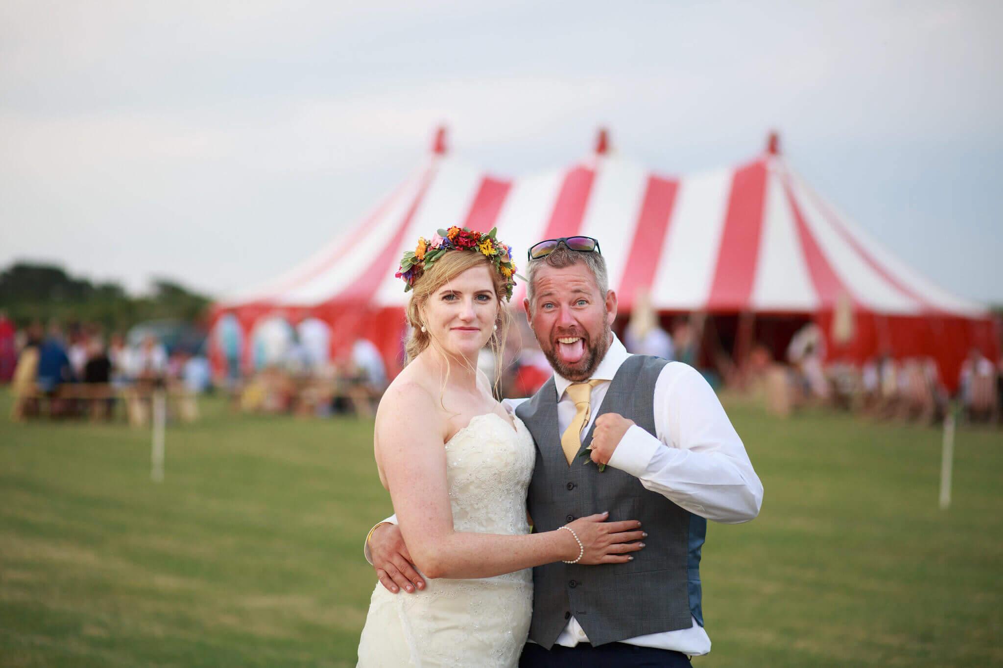 Aileen & Rob's wedding in Cornwall called Snugfest