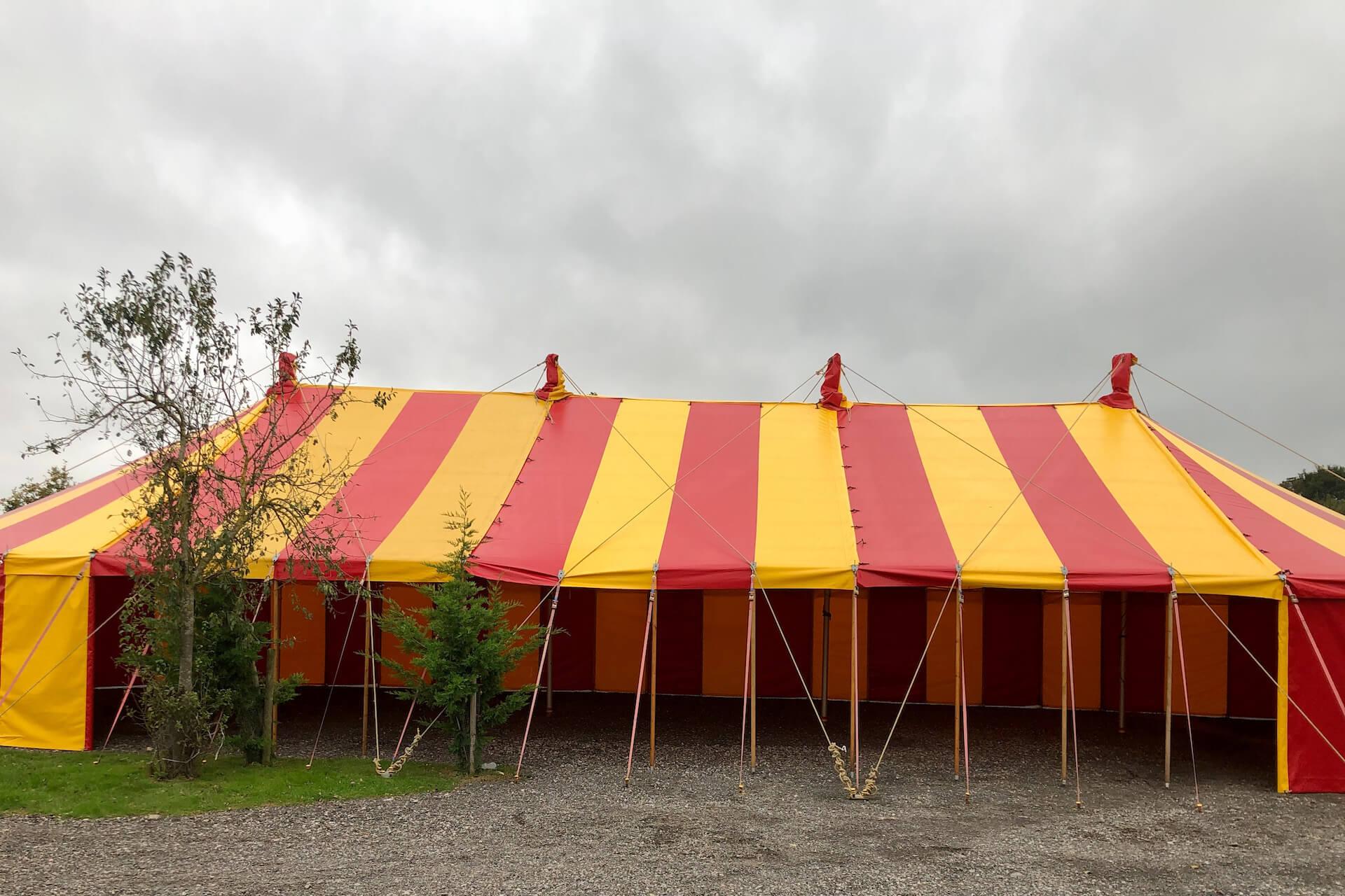halloween event tent hire