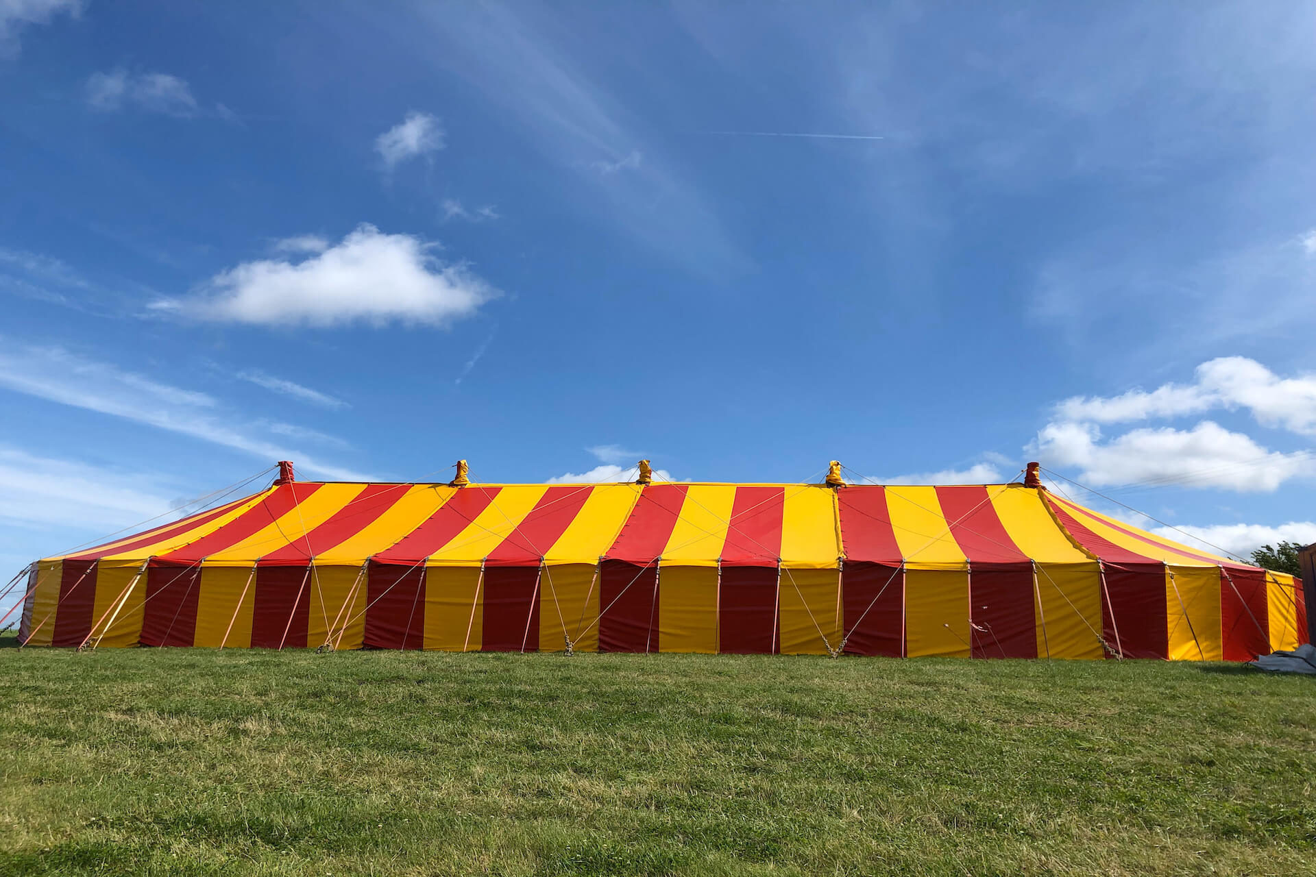 somerset festival marquee stage