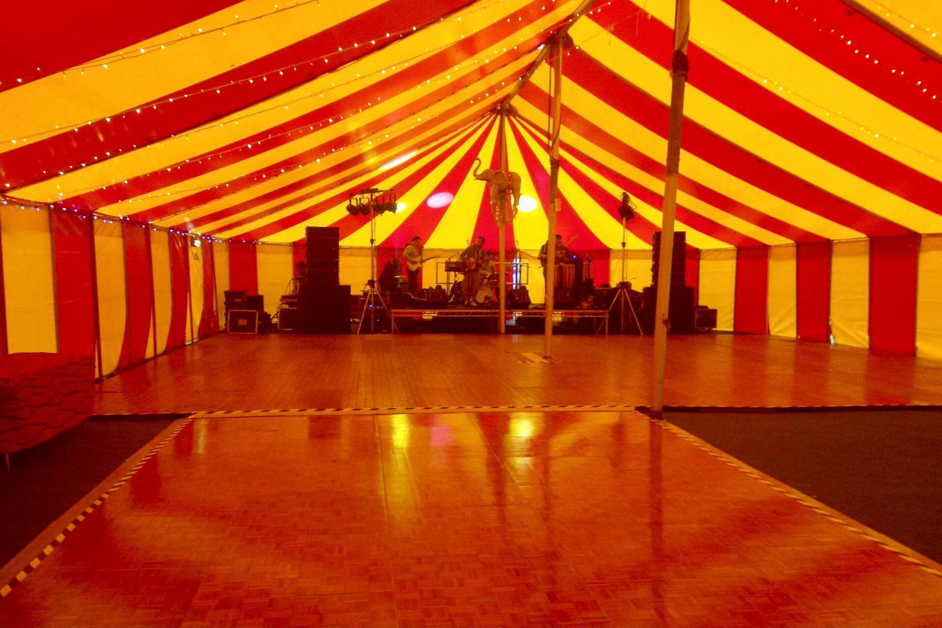 university event student ball marquee hire