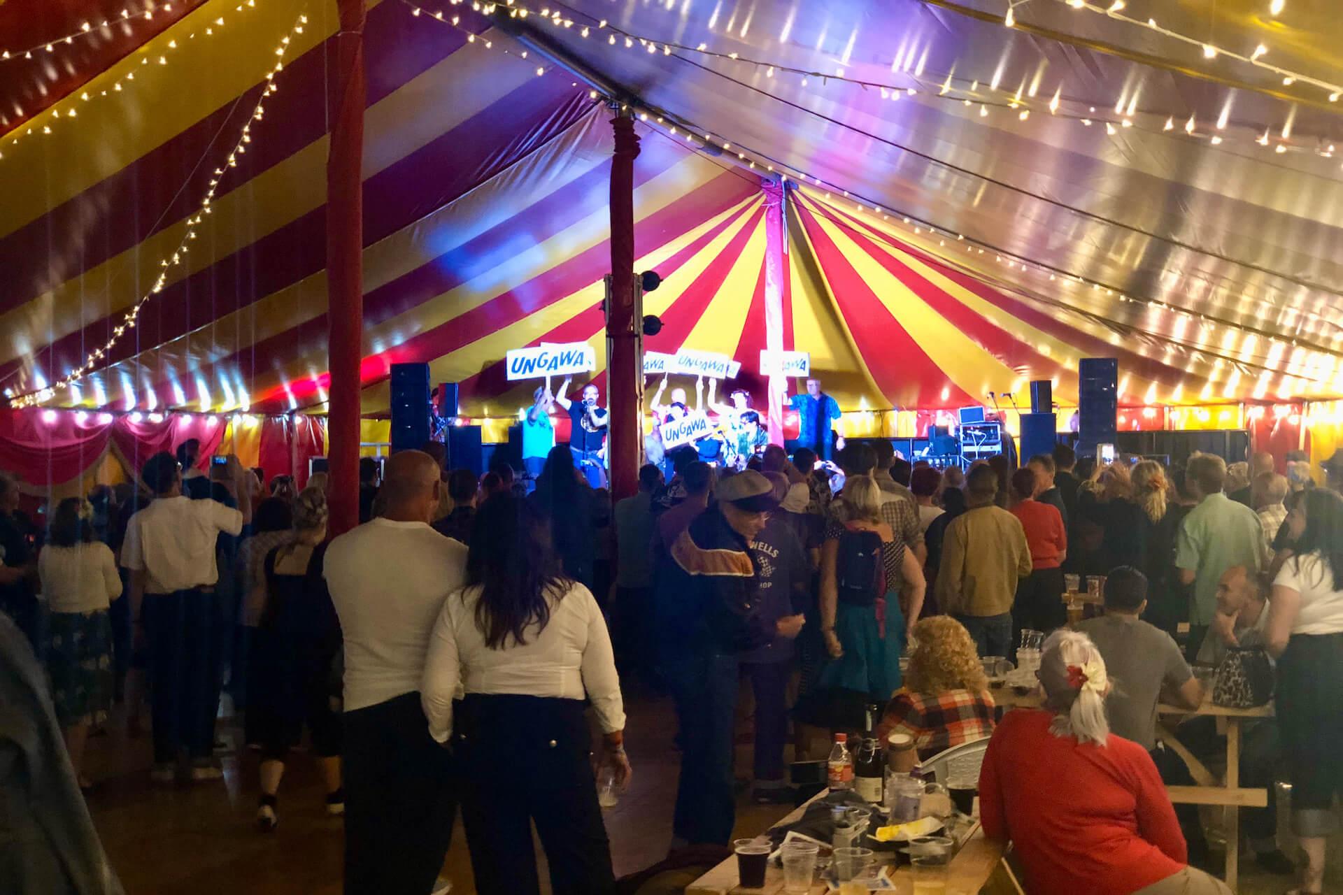 Music festival venue hire