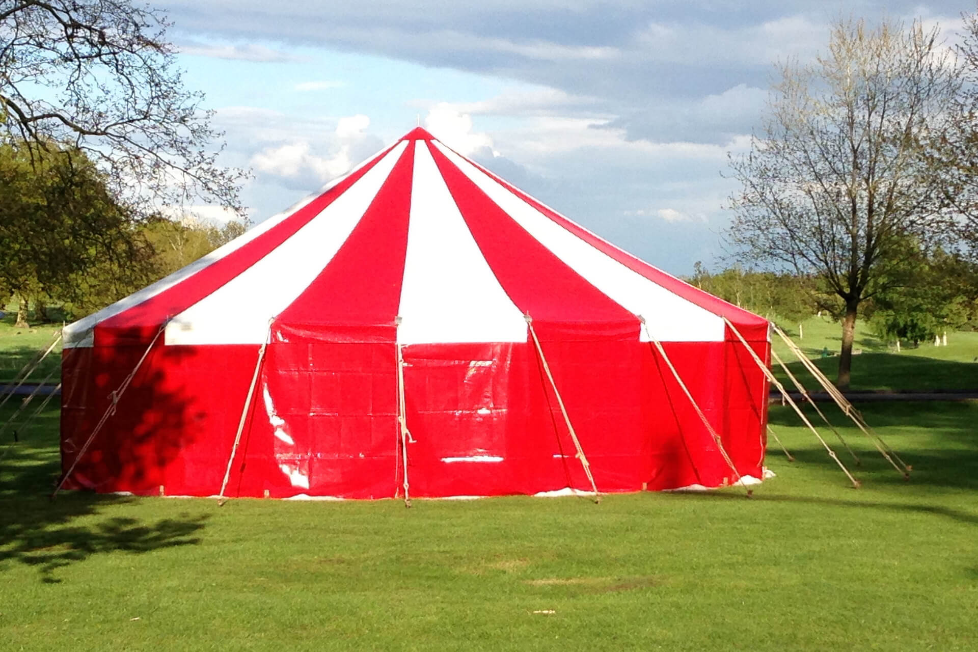 9m round marquee called 'Candy'