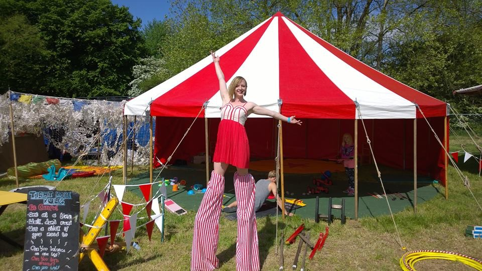 30ft round marquee