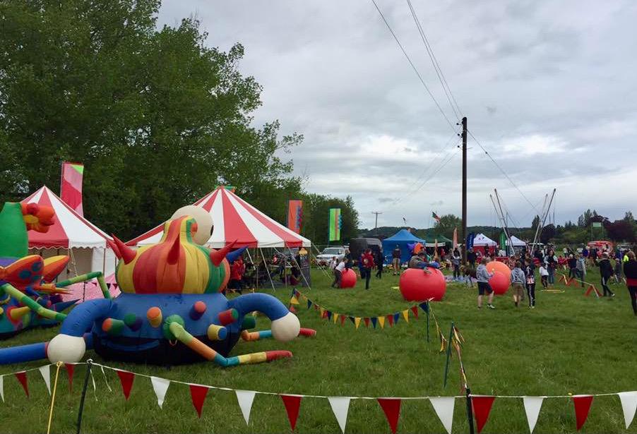 Festival children's area supplier