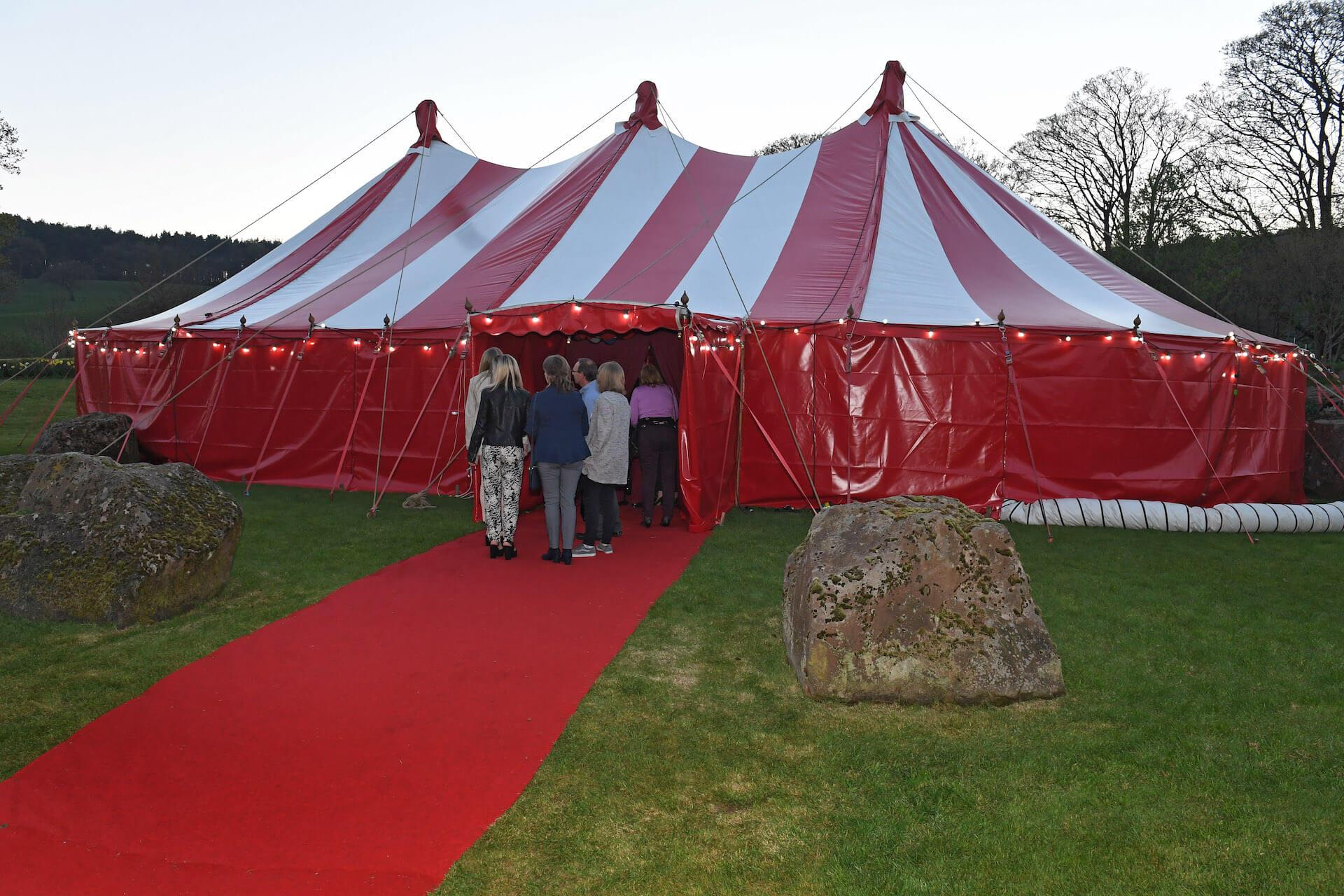 Alternative outdoor wedding near Chester