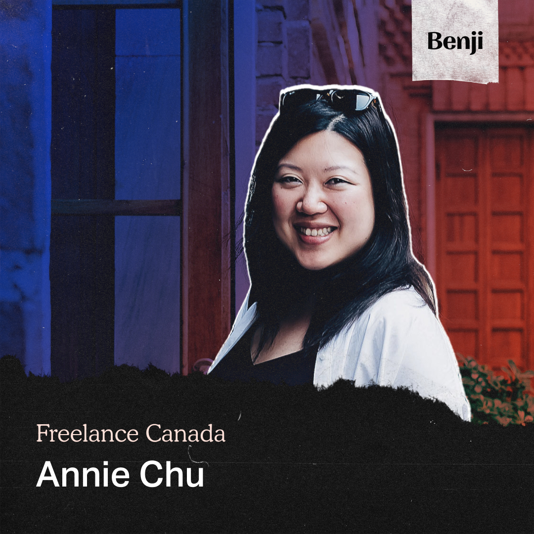 Annie Chu on Freelance Canada Podcast
