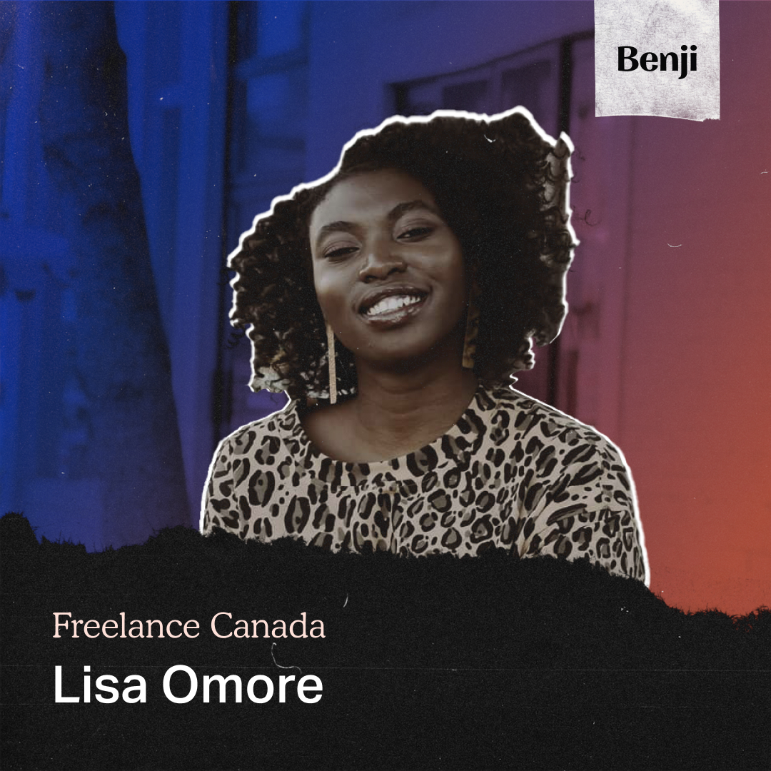 Lisa Omore on the Freelance Canada podcast