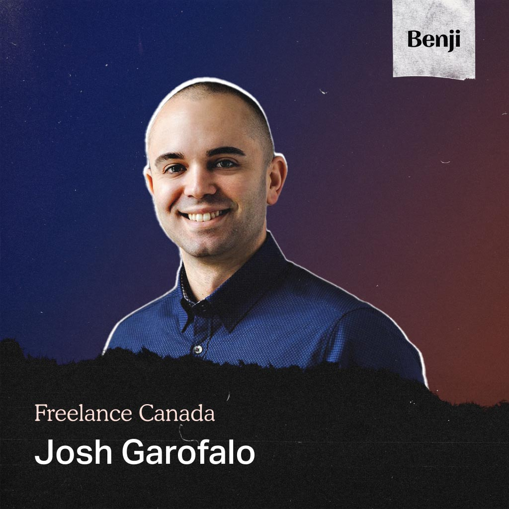 Josh Garofalo on the Freelance Canada podcast