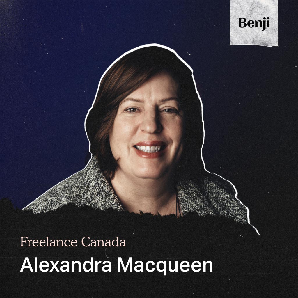 Alexandra Macqueen on the Freelance Canada podcast