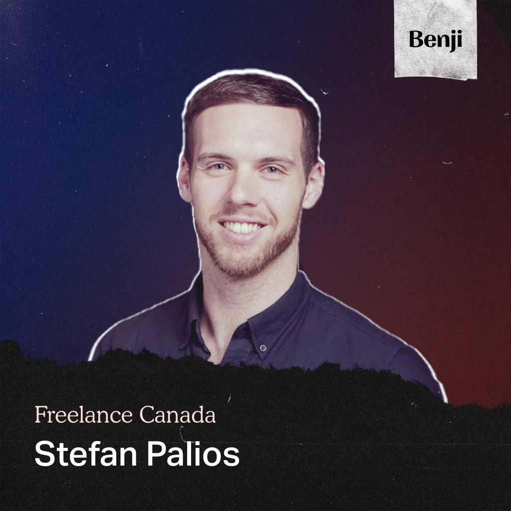 Stefan Palios on Freelance Canada Podcast