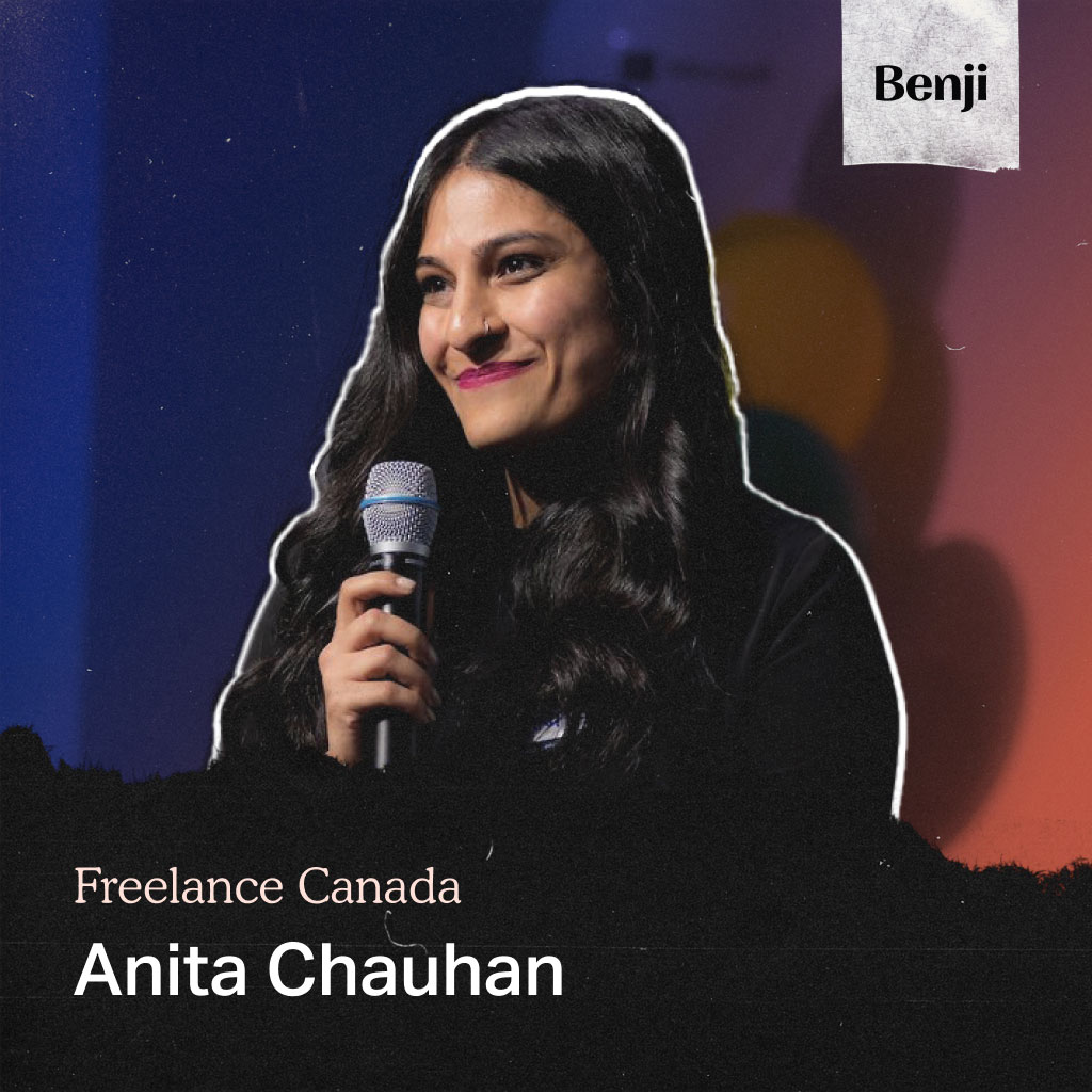 Anita Chauhan on Freelance Canada Podcast