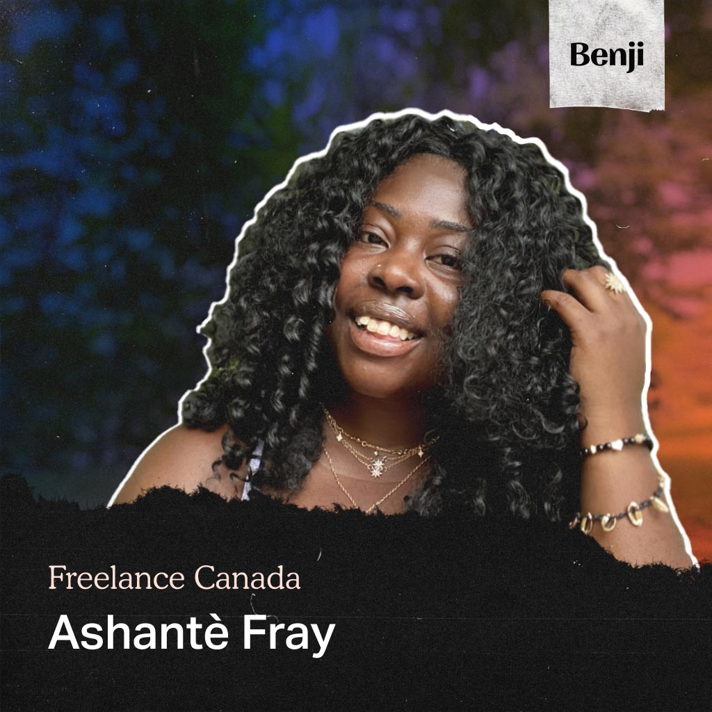Ashatè Fray on Freelance Canada podcast