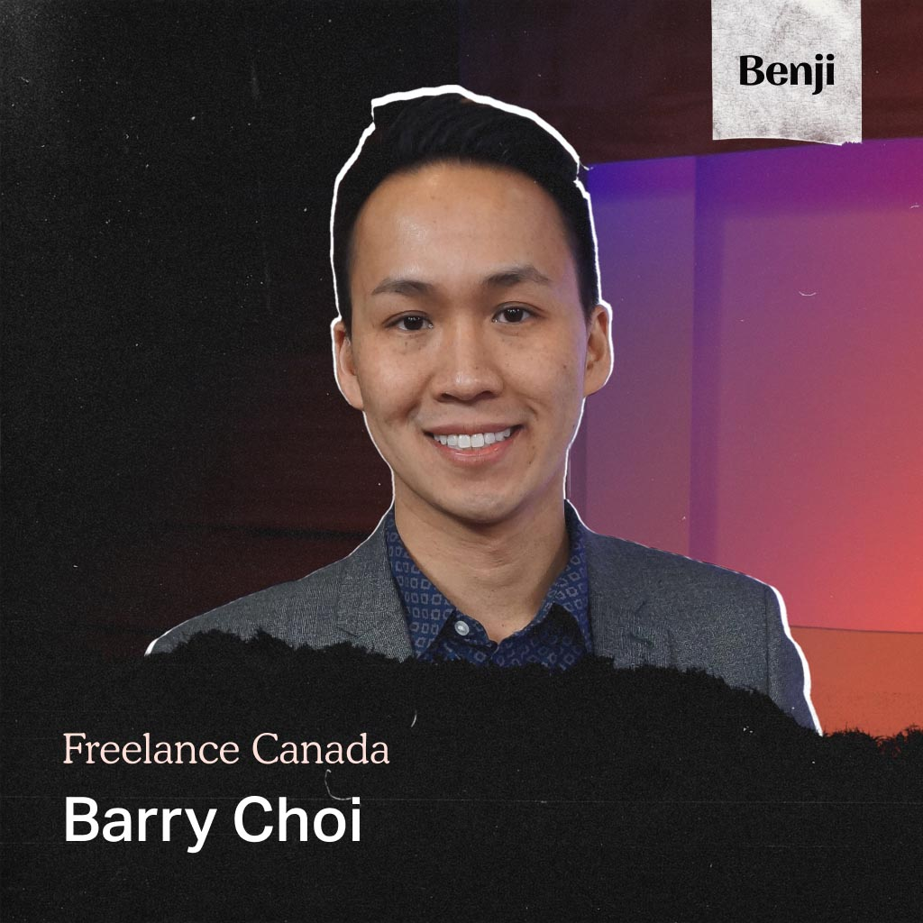 Barry Choi on the Freelance Canada podcast
