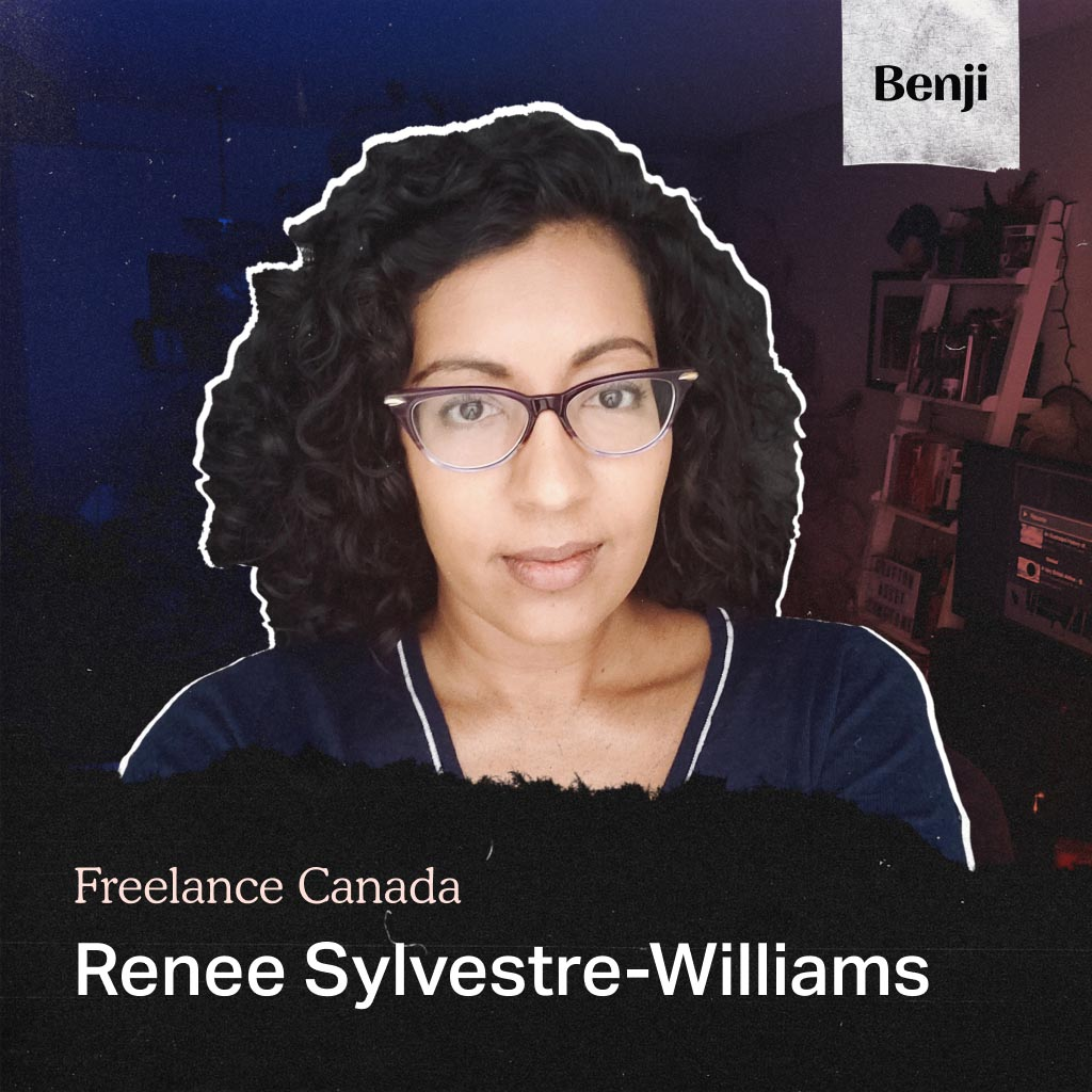 Renee Sylvestre-Williams on the Freelance Canada podcast
