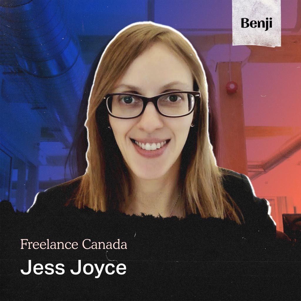 Jess Joyce on the Freelance Canada podcast