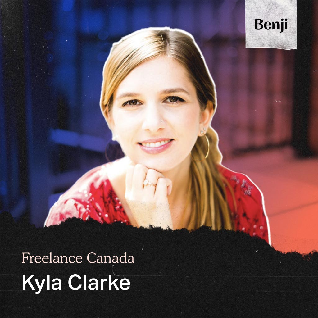Kyla Clarke on the Freelance Canada podcast