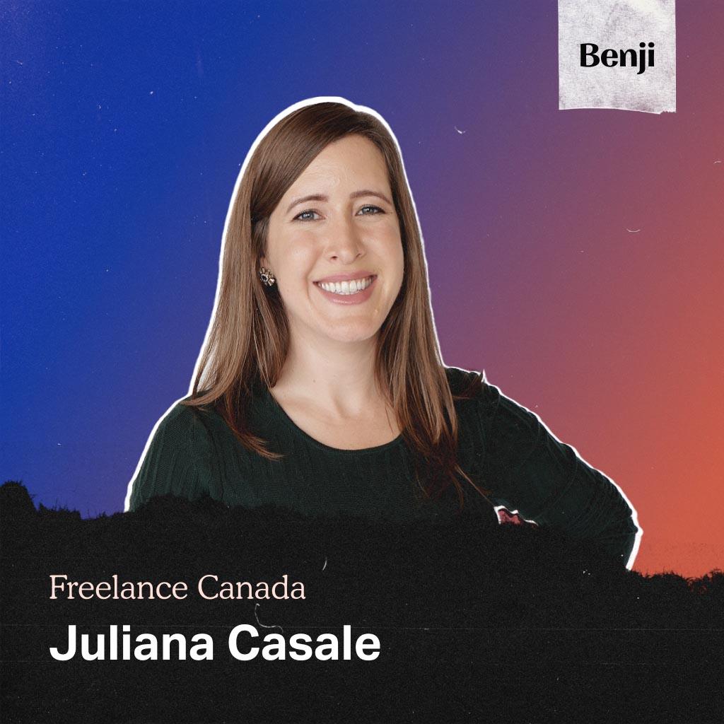 Juliana Casale on the Freelance Canada podcast