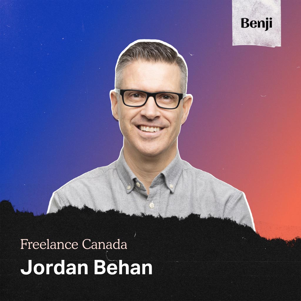 Jordan Behan on the Freelance Canada podcast