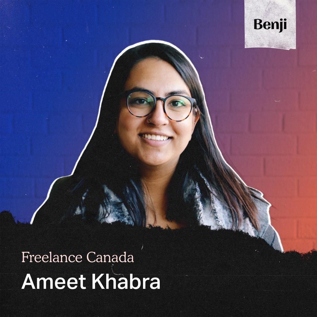 Ameet Khabra on the Freelance Canada podcast