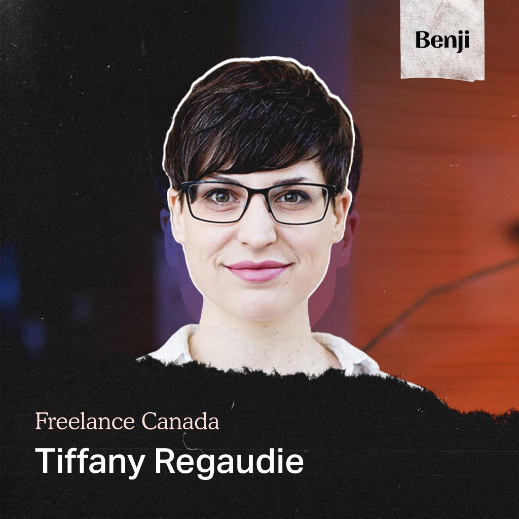 Tiffany Regaudie on the Freelance Canada podcast
