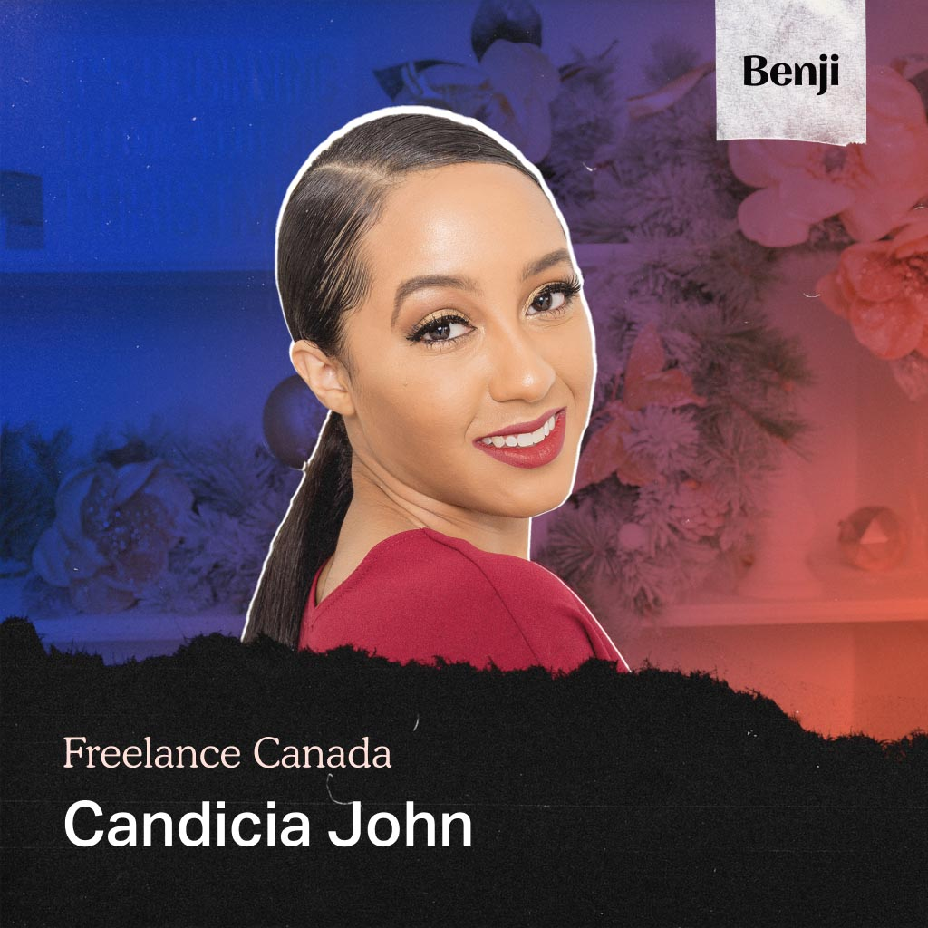 Candicia John on the Freelance Canada podcast