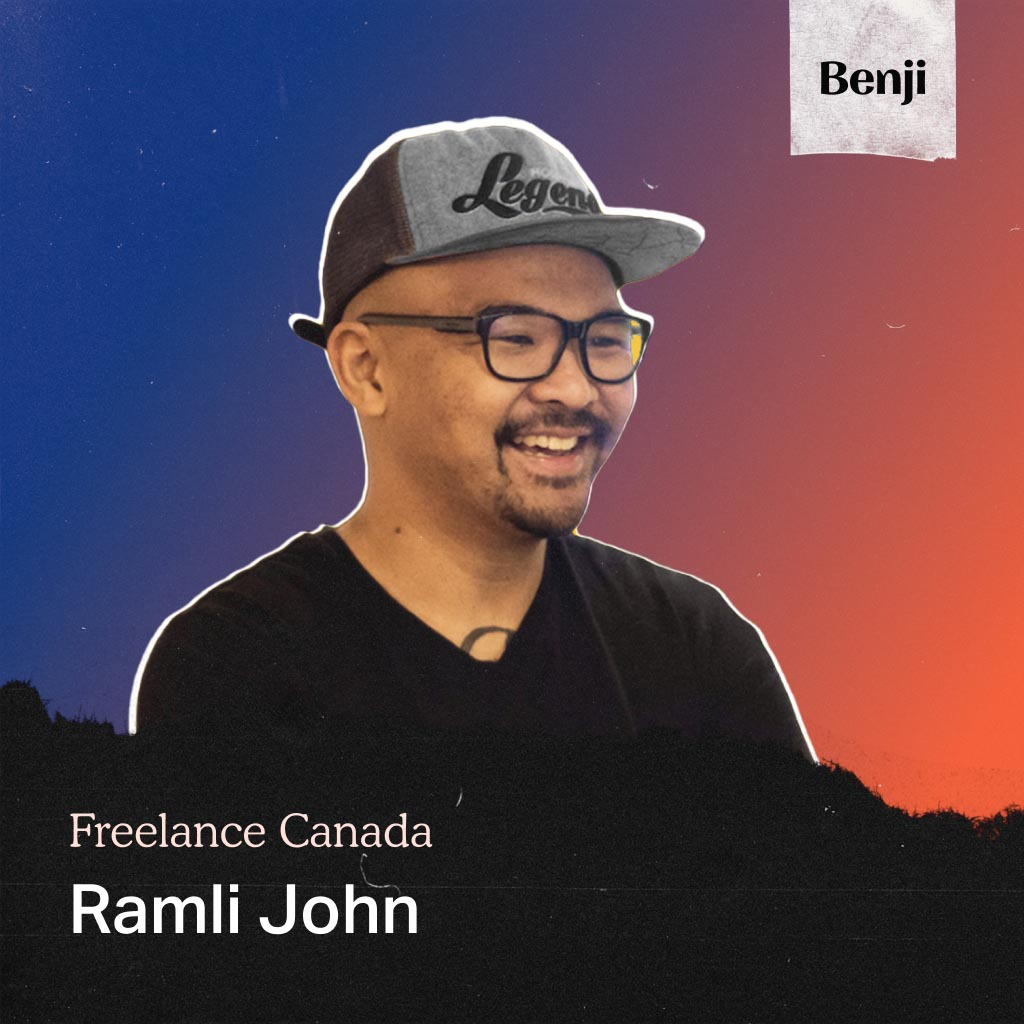 Ramli John on the Freelance Canada podcast