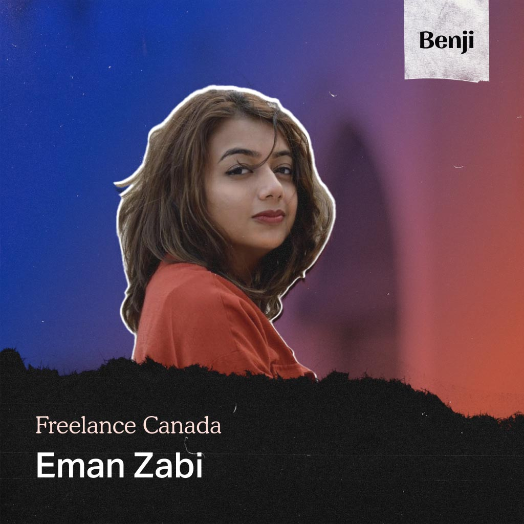 Eman Zabi on the Freelance Canada podcast