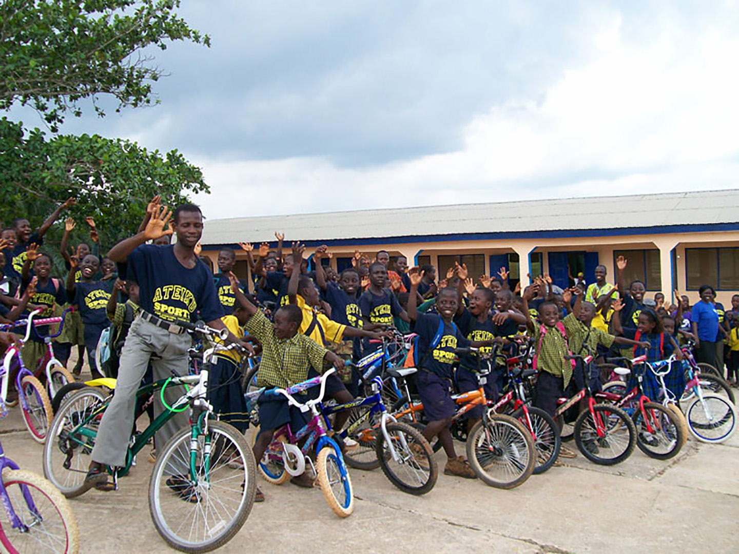 Donated Bicycles