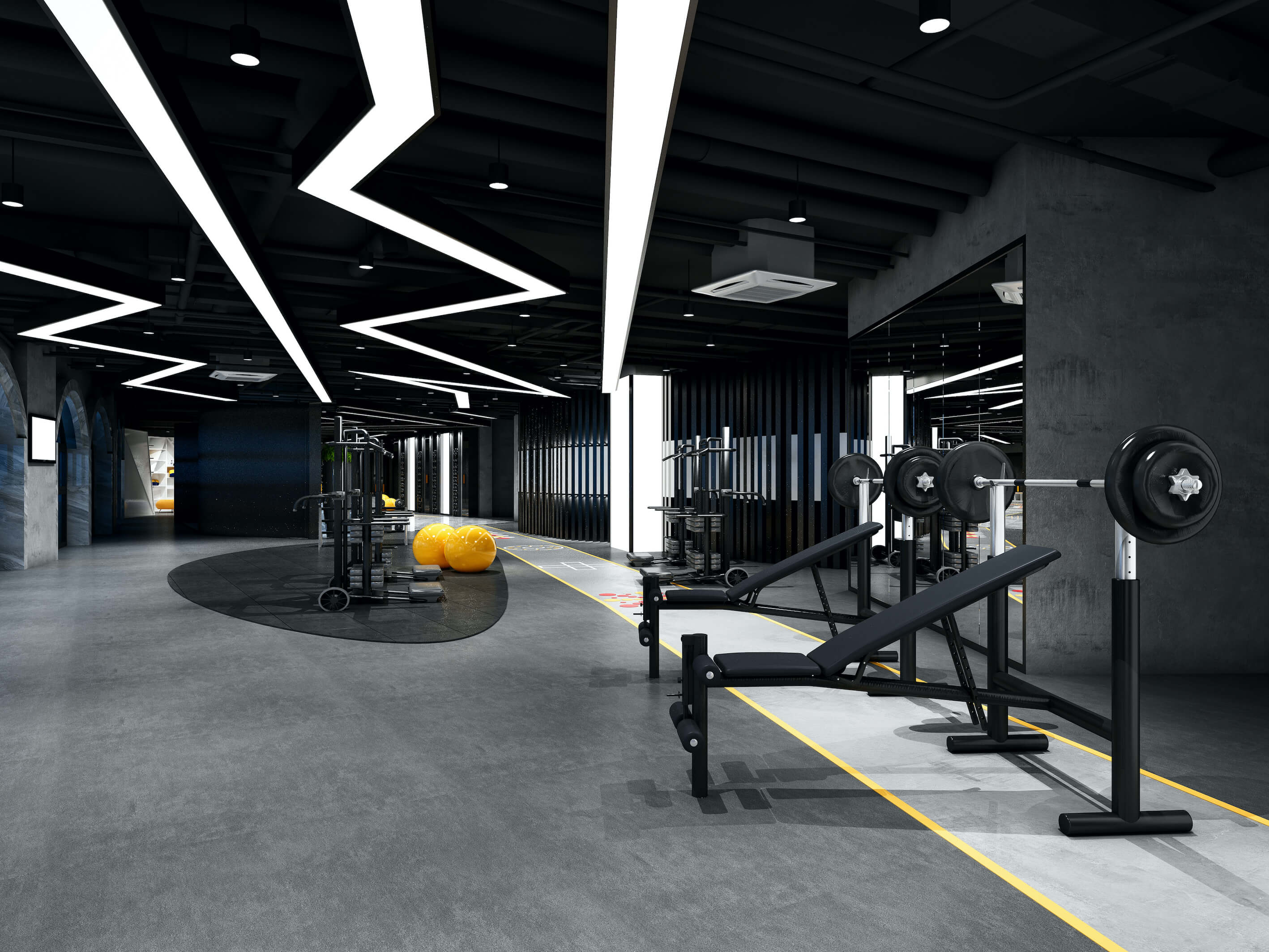 Fully equipped PTgym