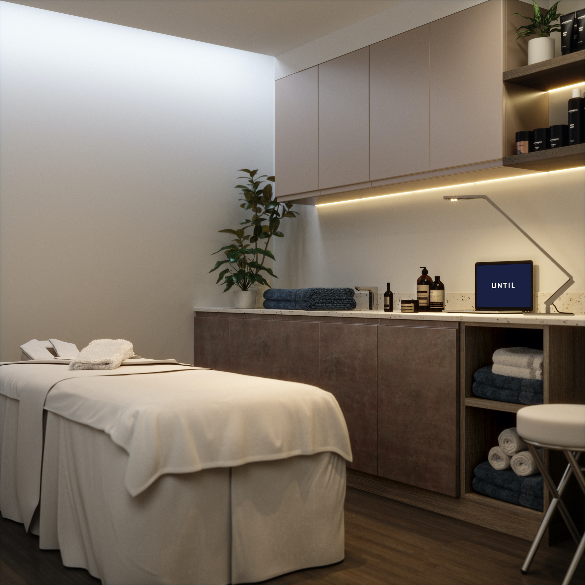 until treatment room space