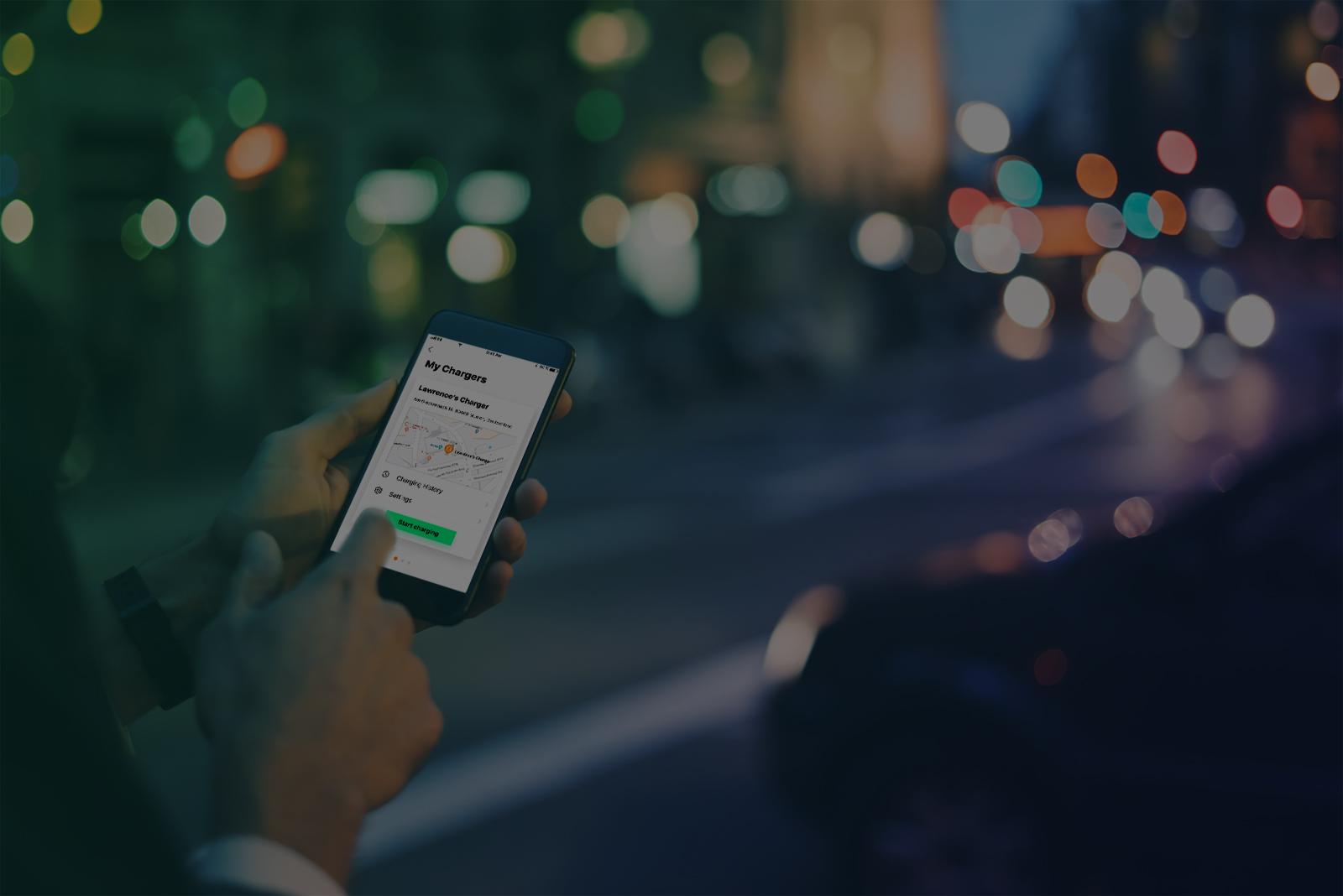 Wallbox App für den Charger (iOS und Android)