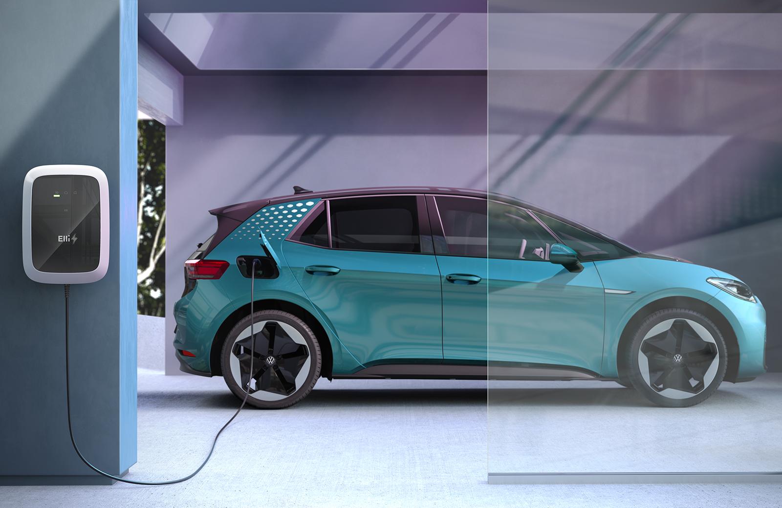 E-car home charging