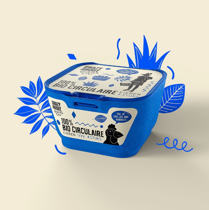 Crazy About Eggs Packaging Design and concept development