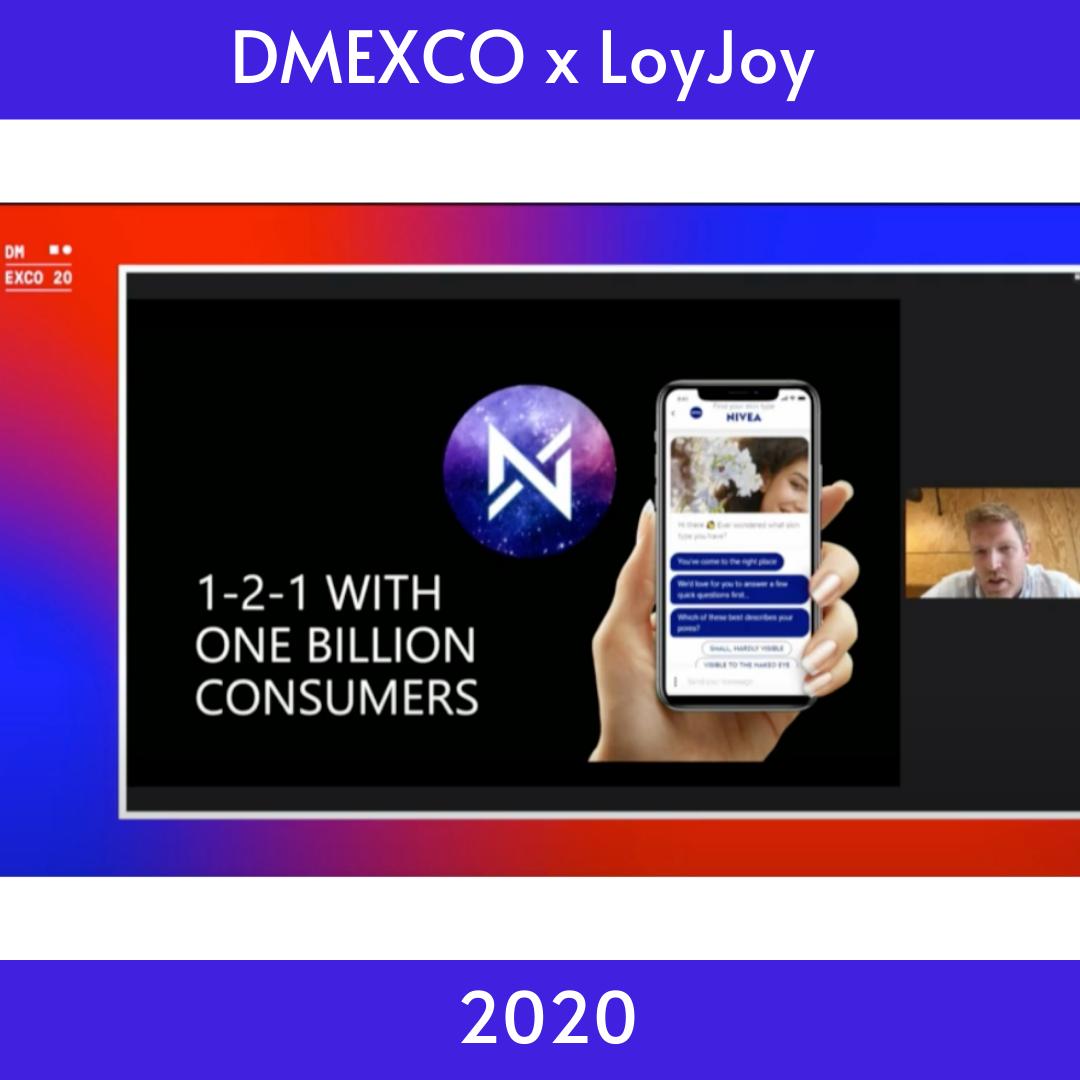 the DMEXCO 2020 with LoyJoy